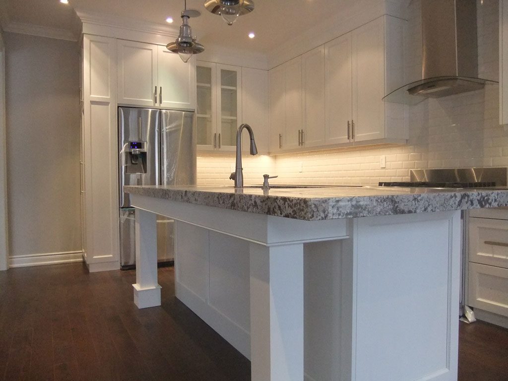 Cvh custom carpentry renovations gallery of work for 2 thick granite